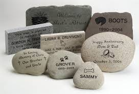 pet memorial garden stones cremation memorial markers and cremation monuments