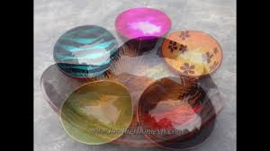 vietnam coconut shell bowl supplier www lacquerhomevn com youtube