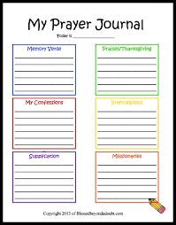 free children s prayer printable blessed beyond a doubt