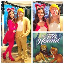 halloween fox fox and the hound couples costume energizer bunny u0026 battery