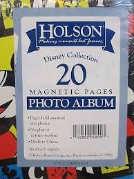 Holson Photo Album New Holson Disney Mickey Mouse Photo Album 9x11 Magnetic Pages
