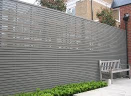 impressive modern privacy fence 125 cheap modern privacy fence