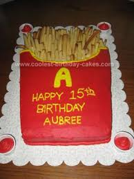 coolest french fries cake 93