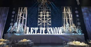 decor and more creates a winter wonderland theme special event