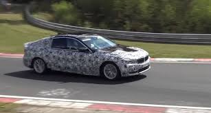 2018 bmw 6 series gt chases a megane rs on the nurburgring