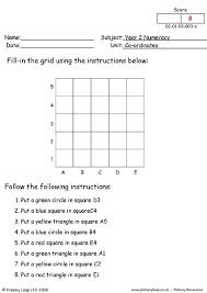 primaryleap co uk coordinates 2 worksheet