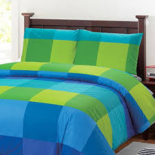 Green Duvets Covers 100 Percent Cotton Full Queen Duvet Cover Set With 2 Pillow Cases