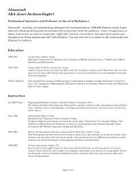 Actor Resume Template Sample Child Actor Resume Template