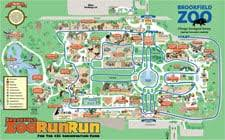 chicago zoo map brookfield zoo run run 3300 golf rd brookfield il zoos mapquest