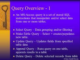 Delete Data From Table Microsoft Access Pa Harris Vanderbilt University A Primer For