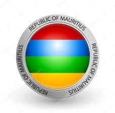 Mauritius Flag Badge Flag Of Republic Of Mauritius U2014 Stock Vector Emirmd 6612755