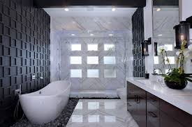 8 gorgeous black bathrooms that exude elegance and drama nest