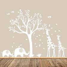 modern wall decalsnursery decalschildren s wall by appleandoliver white nursery tree decal animal nursery art baby nursery tree gender neutral nursery