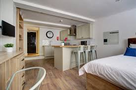 1 bedroom peel street nottingham student accomodation flat m