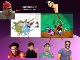 indian tv cartoons bollywood actors voices
