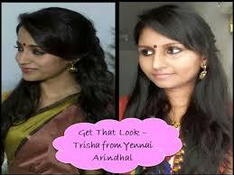 trisha hair in vtv get that look tutorial 6 trisha from yennai arindhal youtube