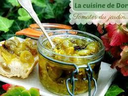 vervenne cuisine recettes de confiture et verveine