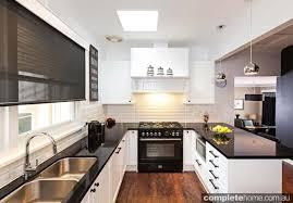 kitchen benchtop ideas extraordinary best 25 black white kitchens ideas on