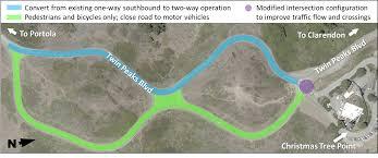 Twin Peaks Map Twin Peaks Figure 8 Redesign Project Sfmta