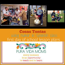 lesson plans for first day of spanish class pura vida moms