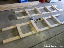 Wood Shelf Building Plans by How To Build A Shelf For The Garage