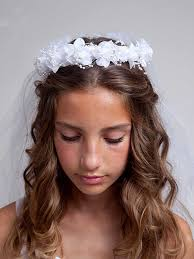 communion headpieces shop graceful communion veils at the most affordable prices