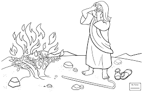 Moses Abcfunkids Me Bible Coloring Pages Moses
