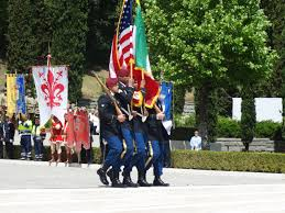 Florence Flag Memorial Day 2016 At Florence American Cemetery American Battle