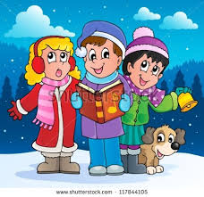 christmas carol singers stock images royalty free images