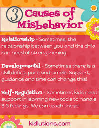 Kidsinmind by 3 Causes Of Misbehavior And What You Can Do About It