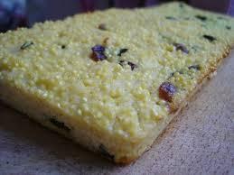 cuisiner le millet recette du gâteau de millet aux canneberges julien venesson