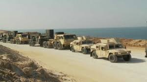 humvee convoy in israel youtube