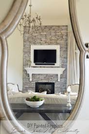 the 25 best painted stone fireplace ideas on pinterest painted