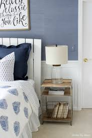 Teen Bedroom Makeover - modern coastal bedroom makeover reveal driven by decor