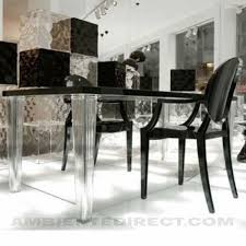 kartell glossy dining table buy the kartell glossy oval dining table with glass top at nestcouk