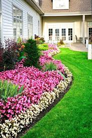 Backyard Flower Bed Ideas Landscaping Around Flower Beds Landscaping Around House With Rock