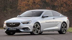 opel insignia coupe rendering motor1 com photos