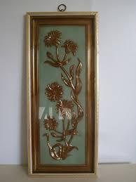 colbertaudrey73 Mid Century Wall Plaque TMC Chicago Gold Art