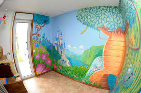 fresque chambre bébé fresque chambre fille photo et charmant fresque chambre bebe