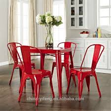 Cafe Chairs Wooden Dining Room French Cafe Chairs Metal Industrial Look Chairs