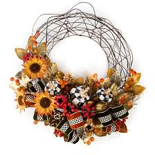 mackenzie childs autumn vine wreath