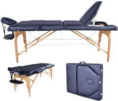 amazon com bestmassage pu portable massage table w carry case