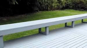 railings on deck bench inspected by property inspector llc 425