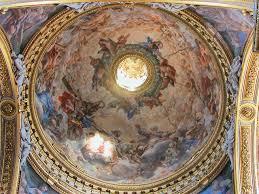 orari cupola san pietro chiesa di santa in vallicella o chiesa nuova a roma foto e