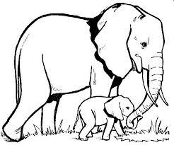 elephant mother and baby elephant tattoo design tattooshunter com