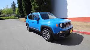 jeep renegade blue interior 2015 jeep renegade latitude blue fpb40730 redmond seattle