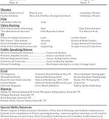 resume format it professional new model resume format