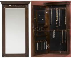 Wall Mirror Jewelry Storage 28 Best Jewelry Storage Organizer Images On Pinterest Jewelry