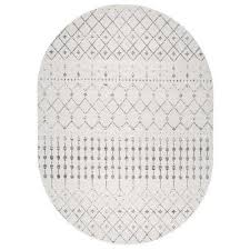 6 X 9 Oval Area Rugs Oval Gray Area Rugs Rugs The Home Depot