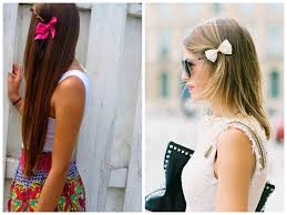 Simple Girls Hairstyles by The Cutest Ways To Wear A Bow Hair World Magazine